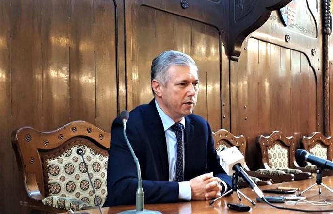 Péter Ferenc, președintele Consiliului Județean Mureș