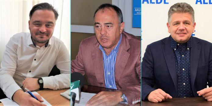Cosmin Blaga, Dorin Florea și Claudiu Maior