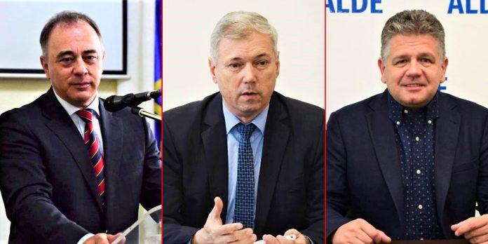 Dorin Florea, Péter Ferenc, Claudiu Maior