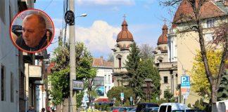 Valer Ujică (medalion) preia administrația parcărilor din Târgu Mureș