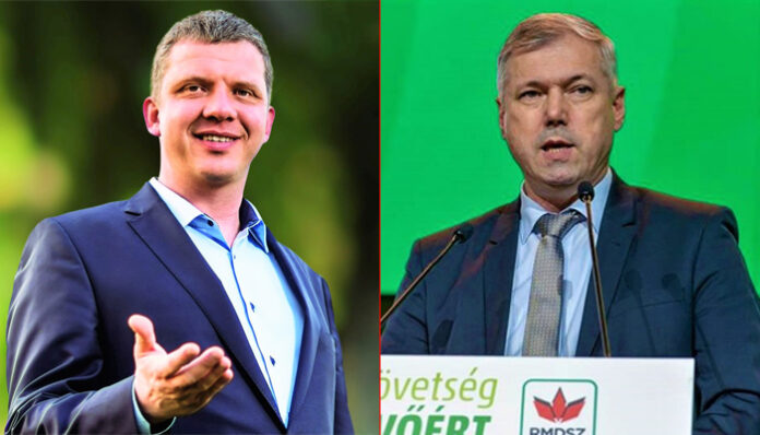 Soós Zoltán și Péter Ferenc